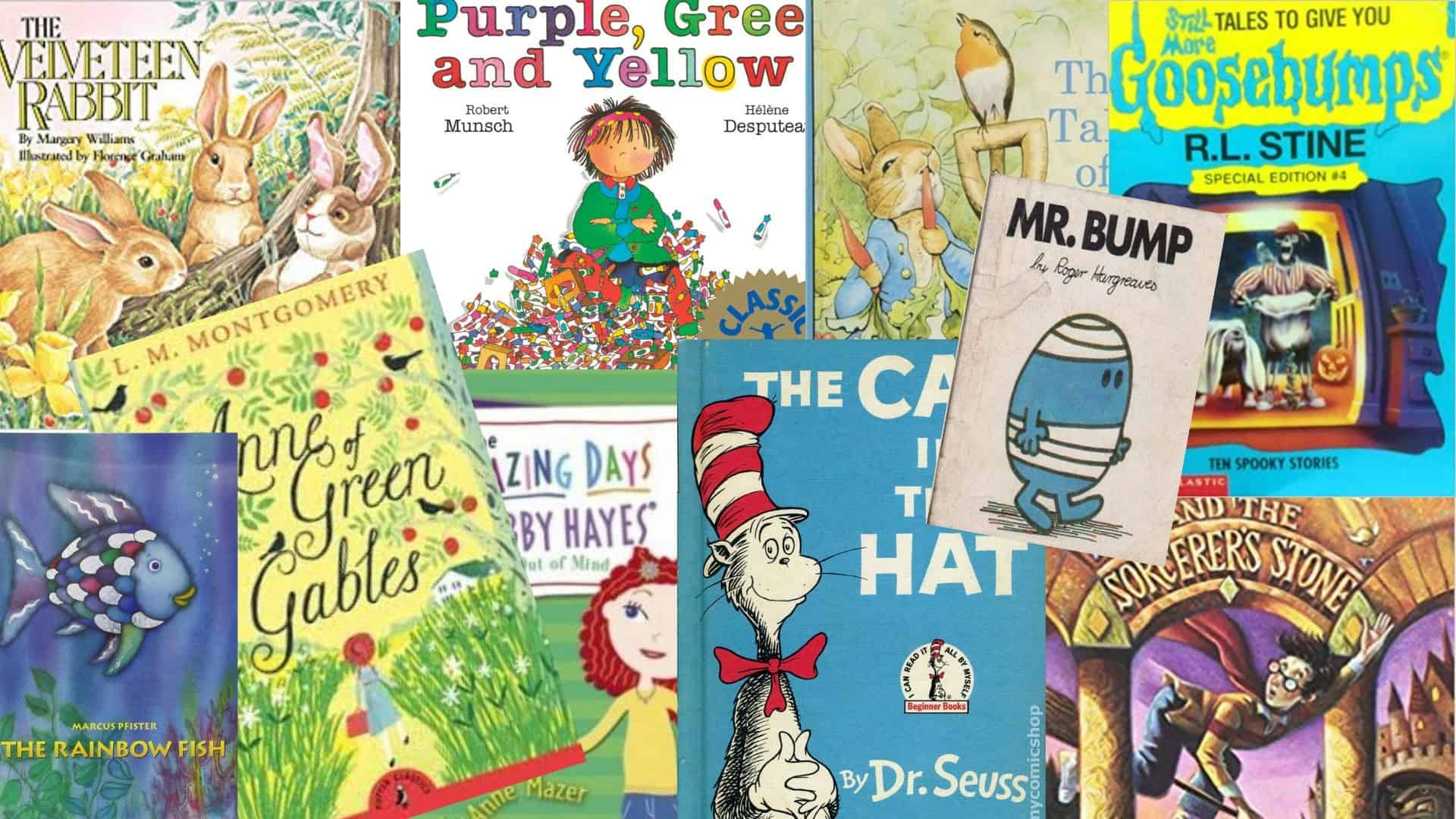 National Literacy Day Childhood Book Favourites