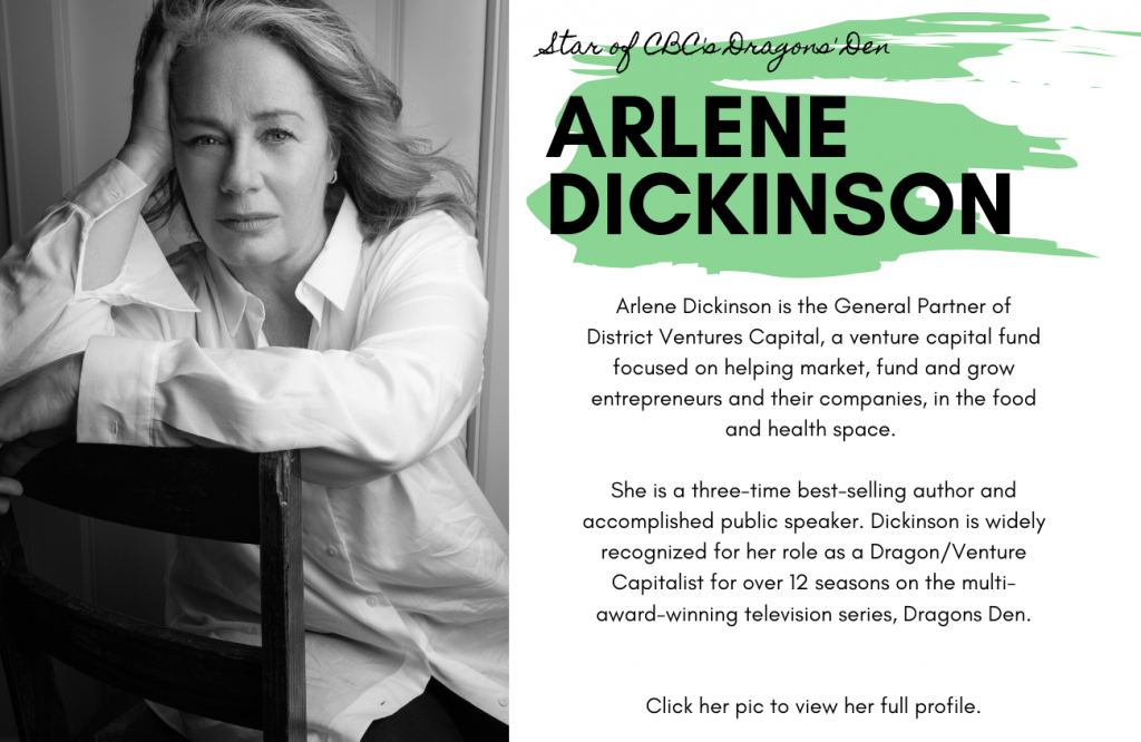 Arlene Dickinson for International Women's Day