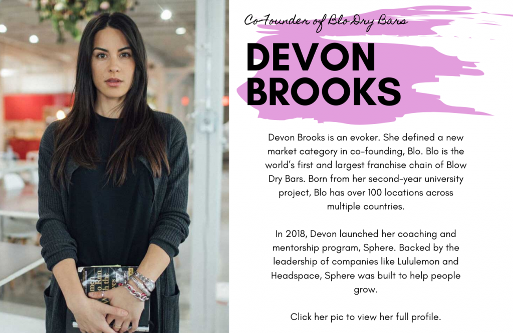 Devon Brooks for International Women's Day