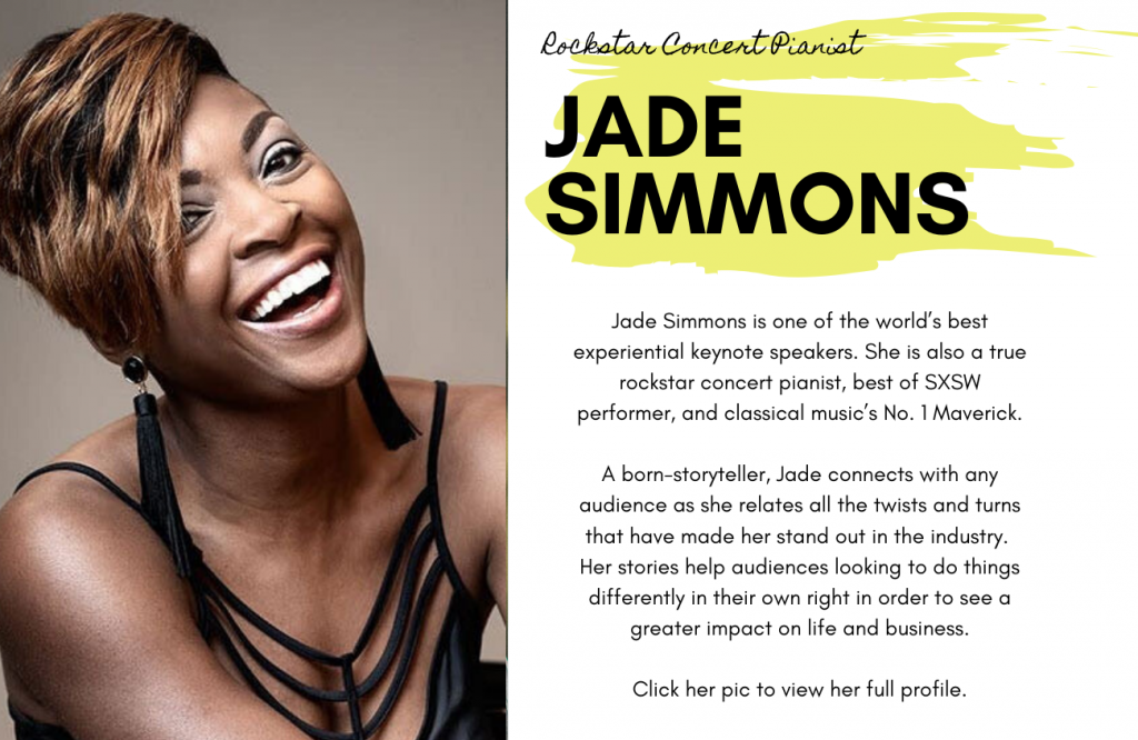 Jade Simmons for International Women's Day